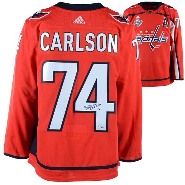 Autographed Washington Capitals John Carlson Fan nfl jerseys sale